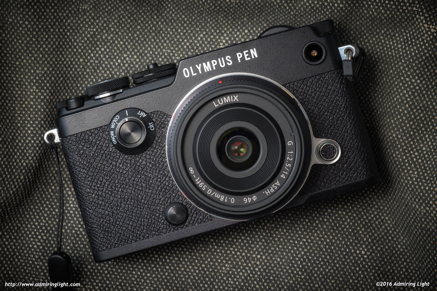 The new Olympus Pen-F