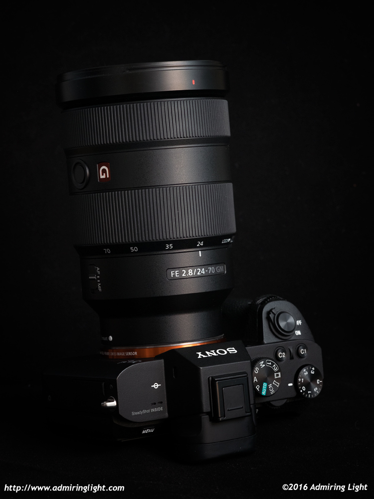 The 24-70mm f/2.8 is professionally built, but big