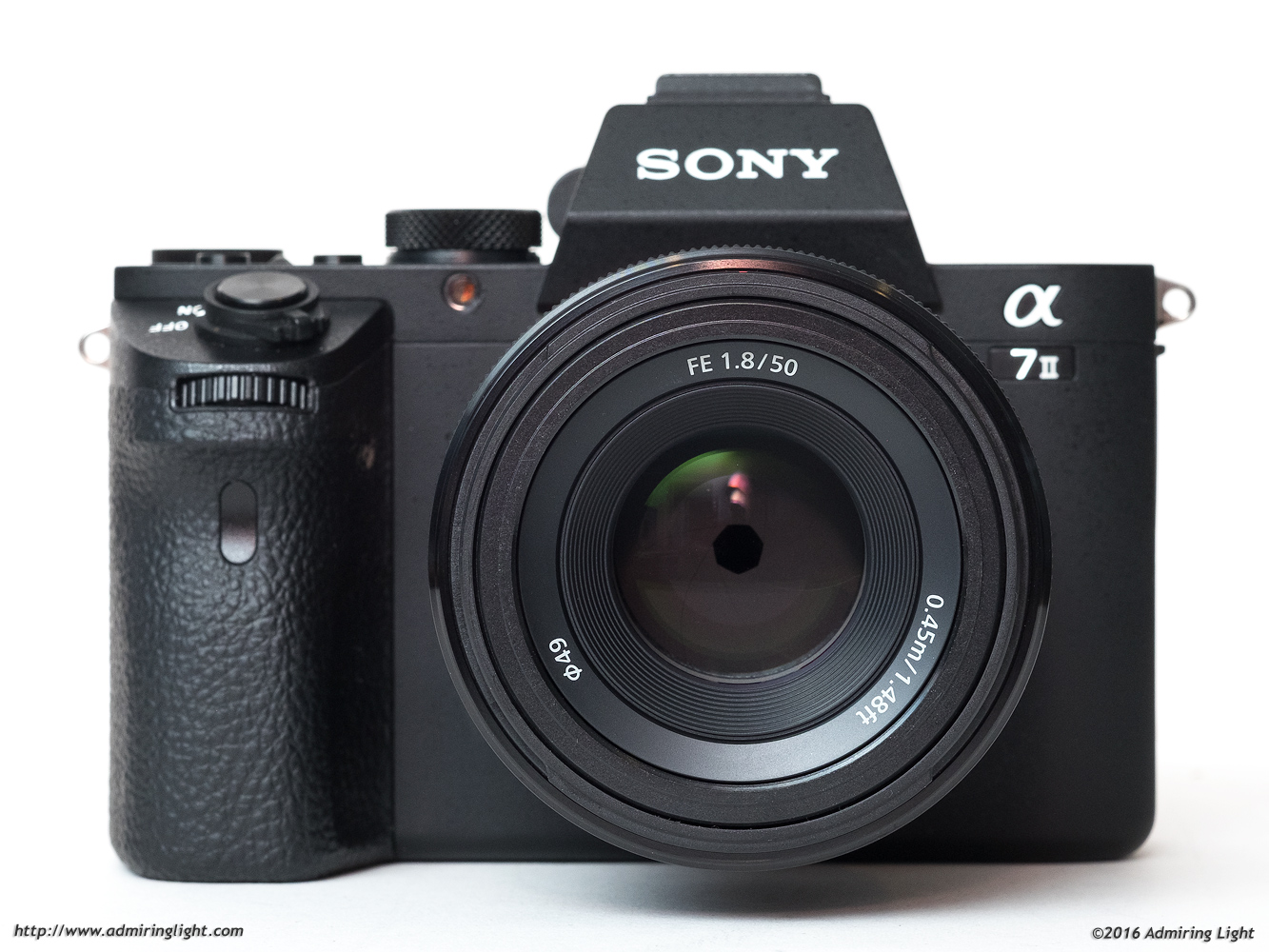 The Sony FE 50mm f/1.8 on the Sony A7 II
