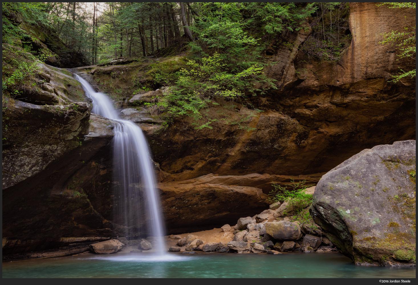 Lower Falls, Hocking Hills - Sony A7 II with Sony 24-70mm f/2.8 GM @