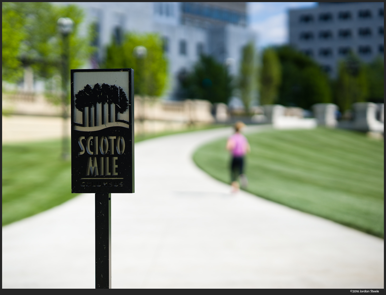 Scioto Mile - Sony A7 II with Sony 85mm f/1.4 GM @ f/2