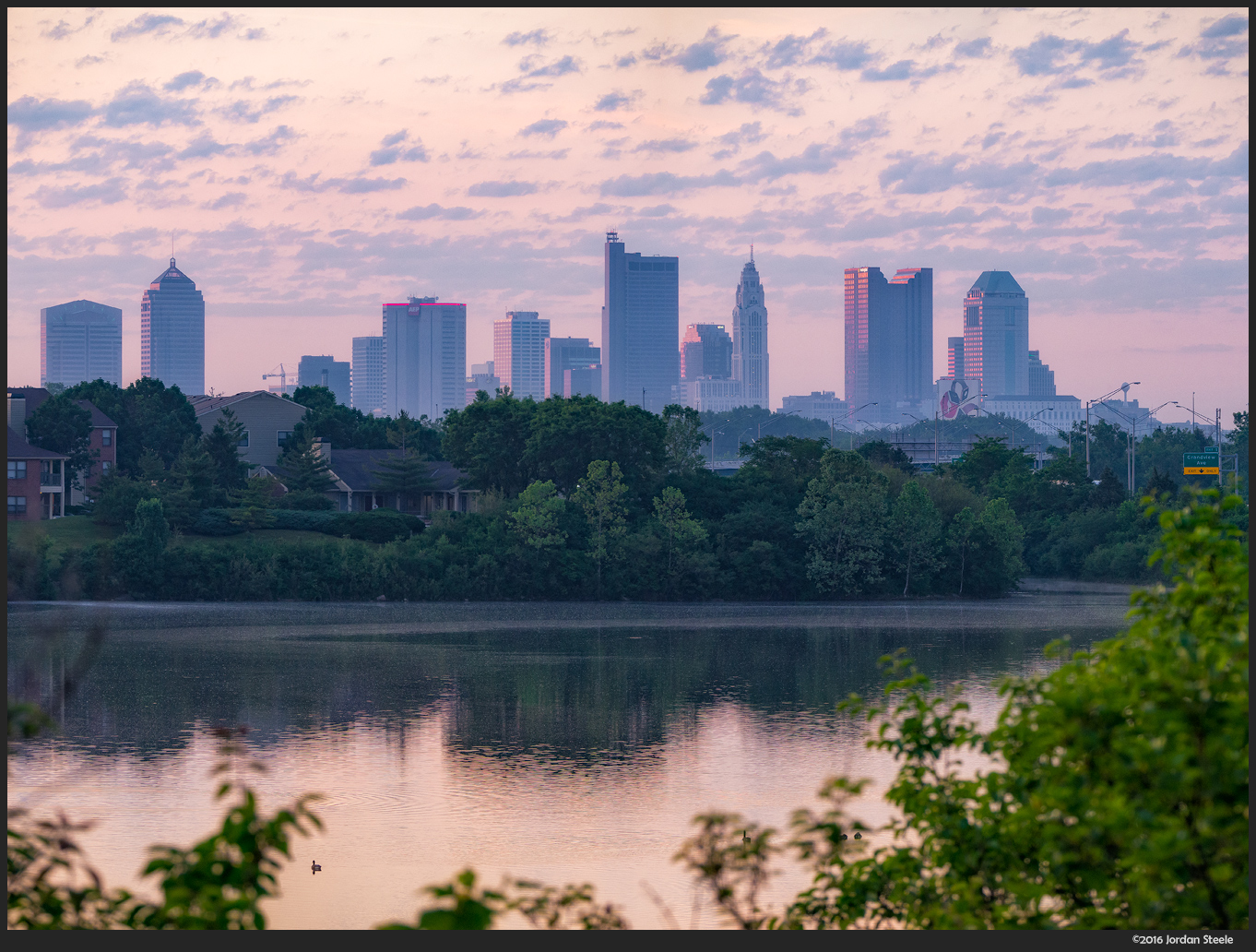 Columbus Morning - Olympus OM-D E-M10 Mark II with Panasonic Leica 100-400mm f/4-6.3 @