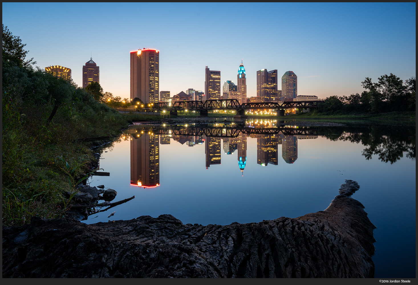 Calm Columbus Morning - Sony A7 II with Zeiss FE 16-35mm f/4 ZA OSS