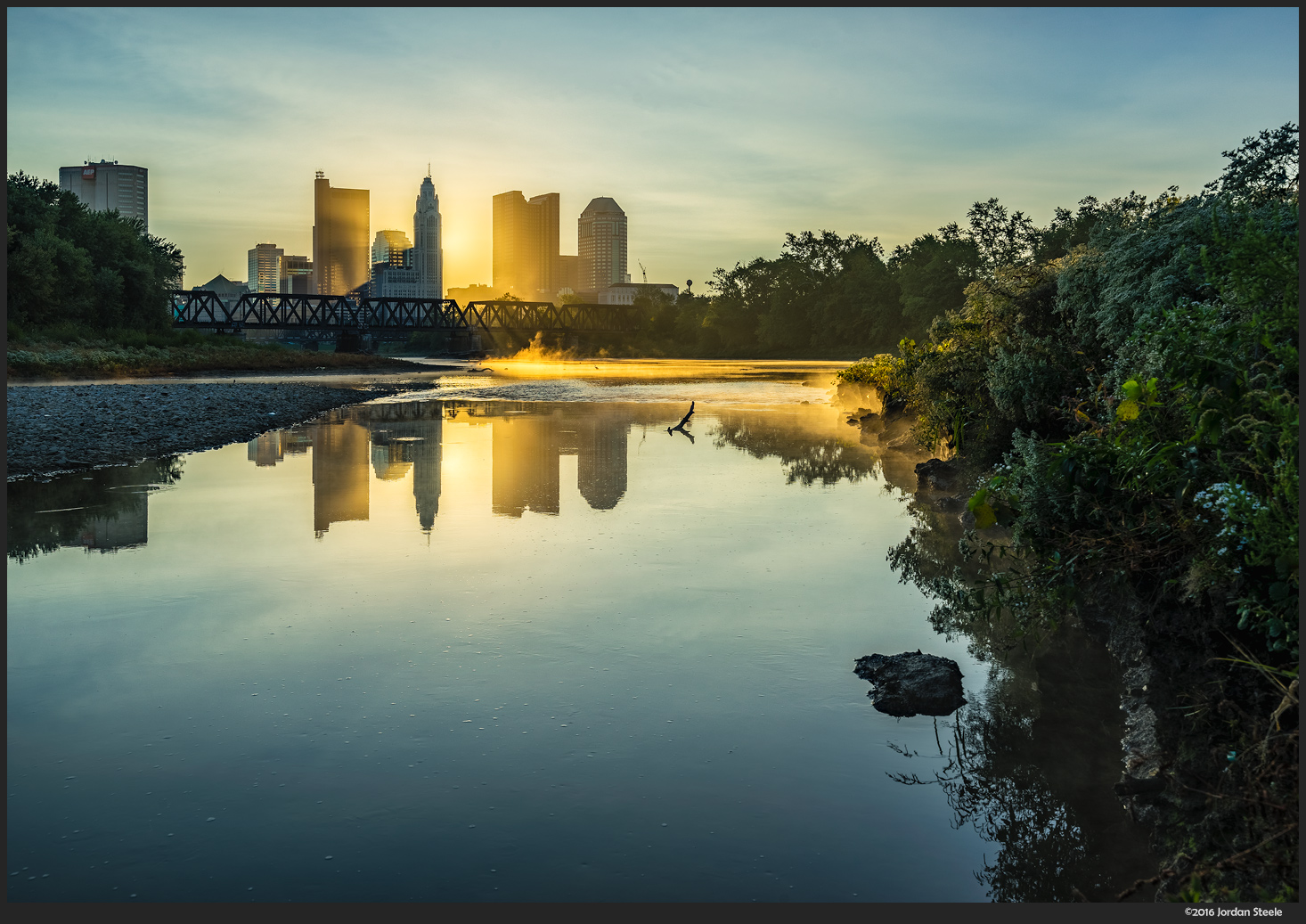 Columbus Sunrise - Sony A7 II with Zeiss FE 16-35mm f/4 ZA OSS @ 35mm,