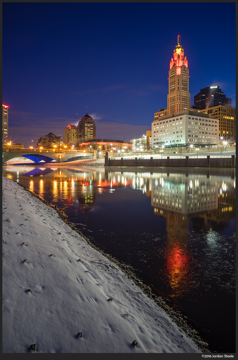 Cold Columbus - Sony A7 II with Zeiss Loxia 21mm f/2.8 @