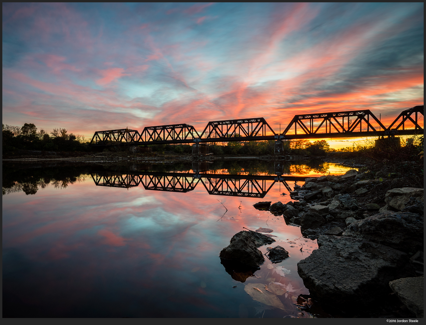 Railroad Sunset - Sony A7 II with Zeiss FE 16-35mm f/4 @