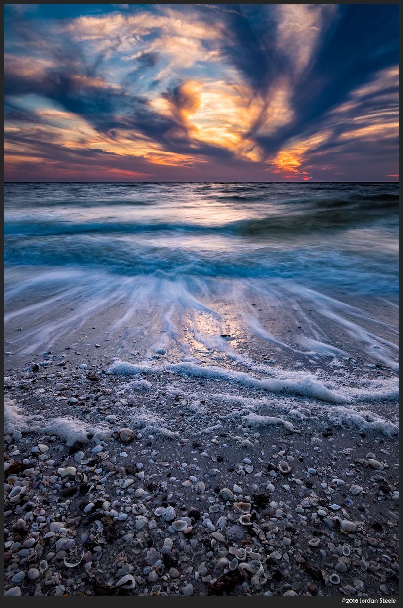 Sunset over the Gulf of Mexico - Fujifilm X-E2 with Fujinon XF 14mm f/2.8 @
