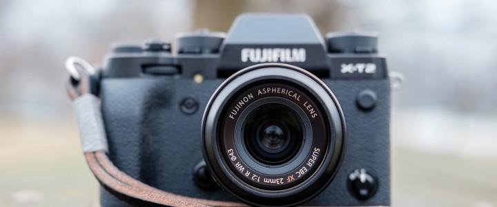 The Fujinon XF 23mm f/2 R WR on the Fuji X-T2