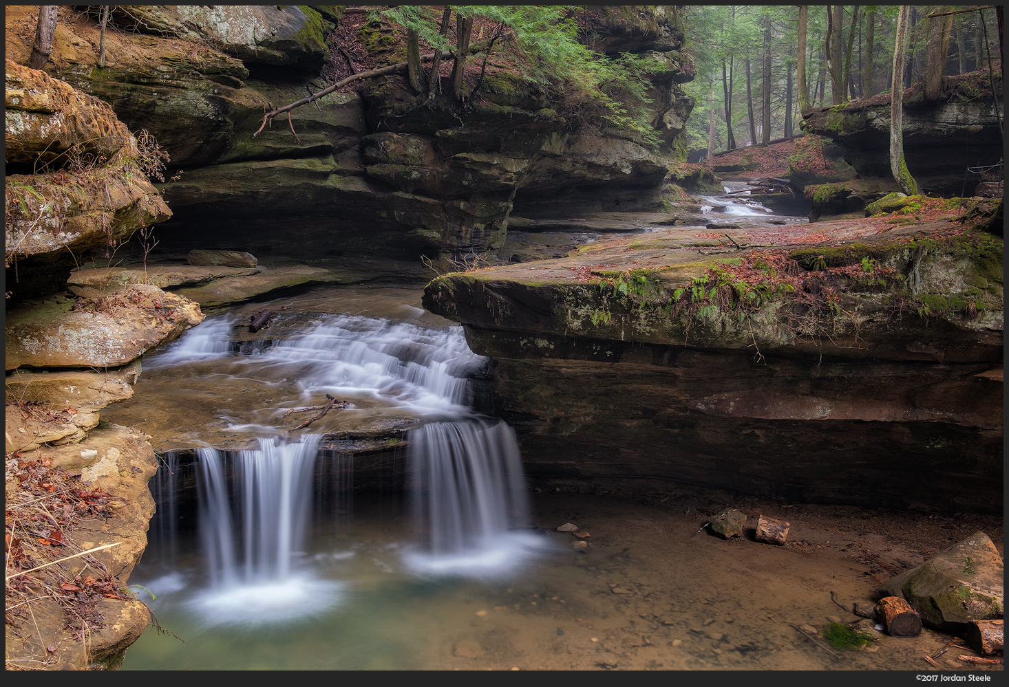 Middle Falls, Hocking Hills - Fujifilm X-T2 with Fujinon XF 23mm f/2 R WR @