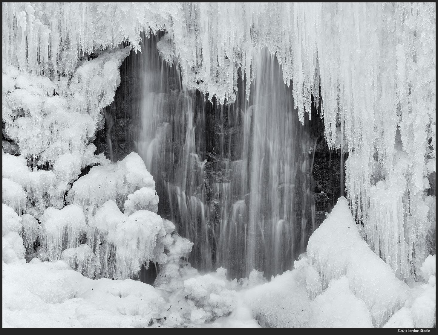 Ice Falls - Fujifilm X-T2 with Fujinon XF 55-200mm f/3.5-4.8 @