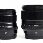 The Fujinon XF 50mm f/2 WR and the XF 56mm f/1.2