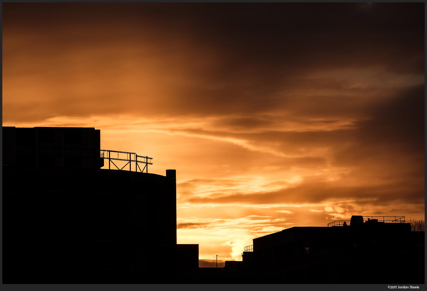 Sunrise Silhouette - Fujifilm X-T20 with Fujinon XF 55-200mm f/3.5-4.8 @