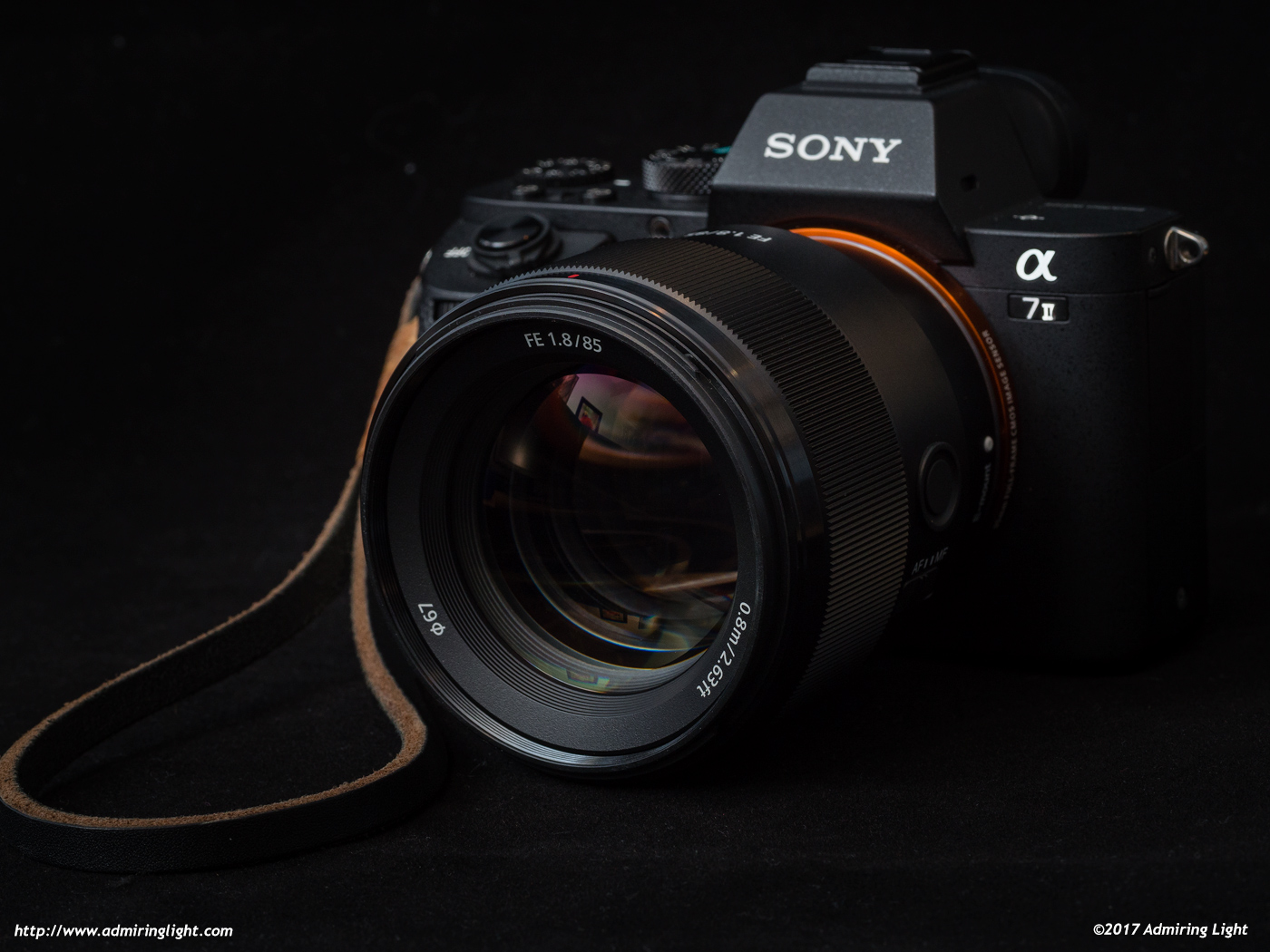 The Sony FE 85mm f/1.8 on the A7 II