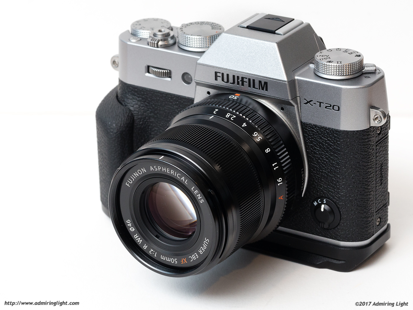 The Fuji XF 50mm f/2 R WR on the Fuji X-T20