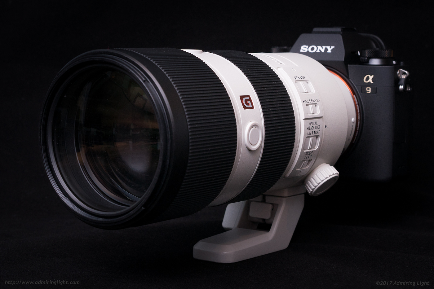 The Sony FE 70-200mm f/2.8 GM on the Sony A9