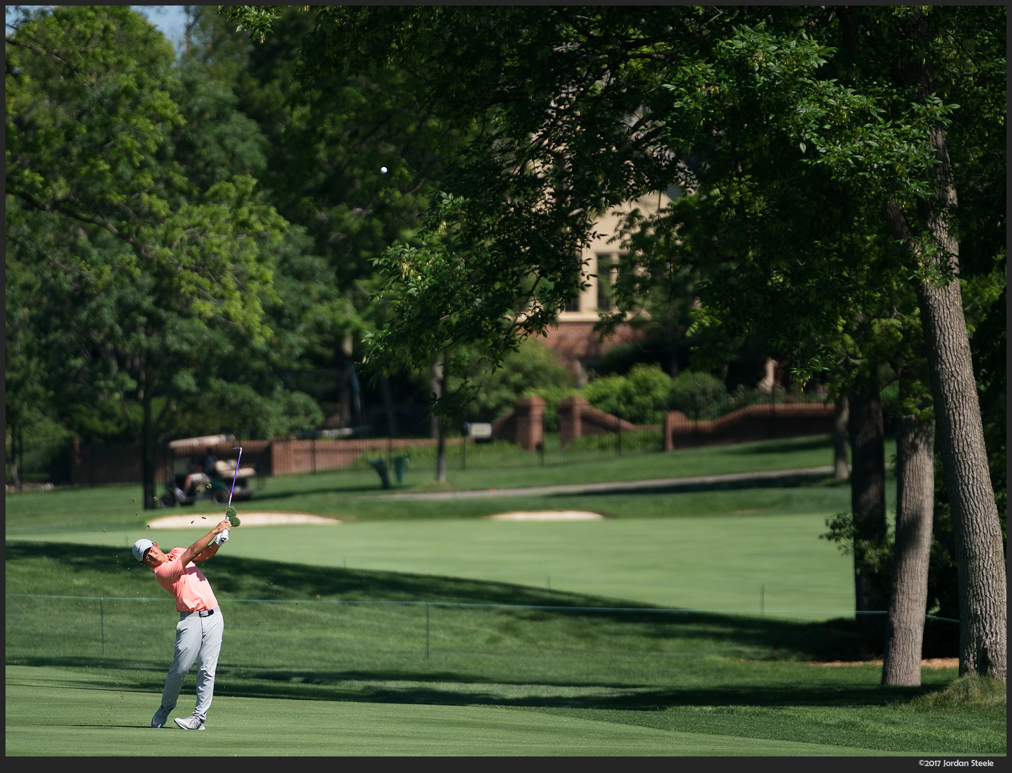 Memorial Tournament - Sony A9 with FE 70-200mm f/2.8 GM + 1.4x TC @ 280mm, f/4, ISO