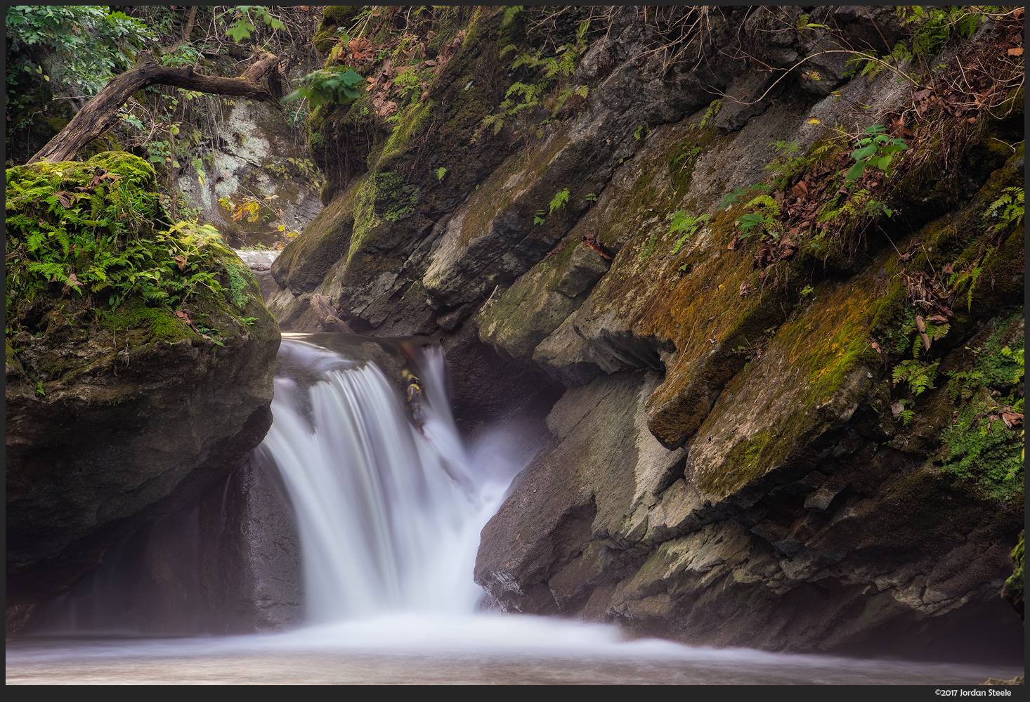Waterfall on Massies Creek - Sony A7 II with Canon EF 70-200mm f/4L @
