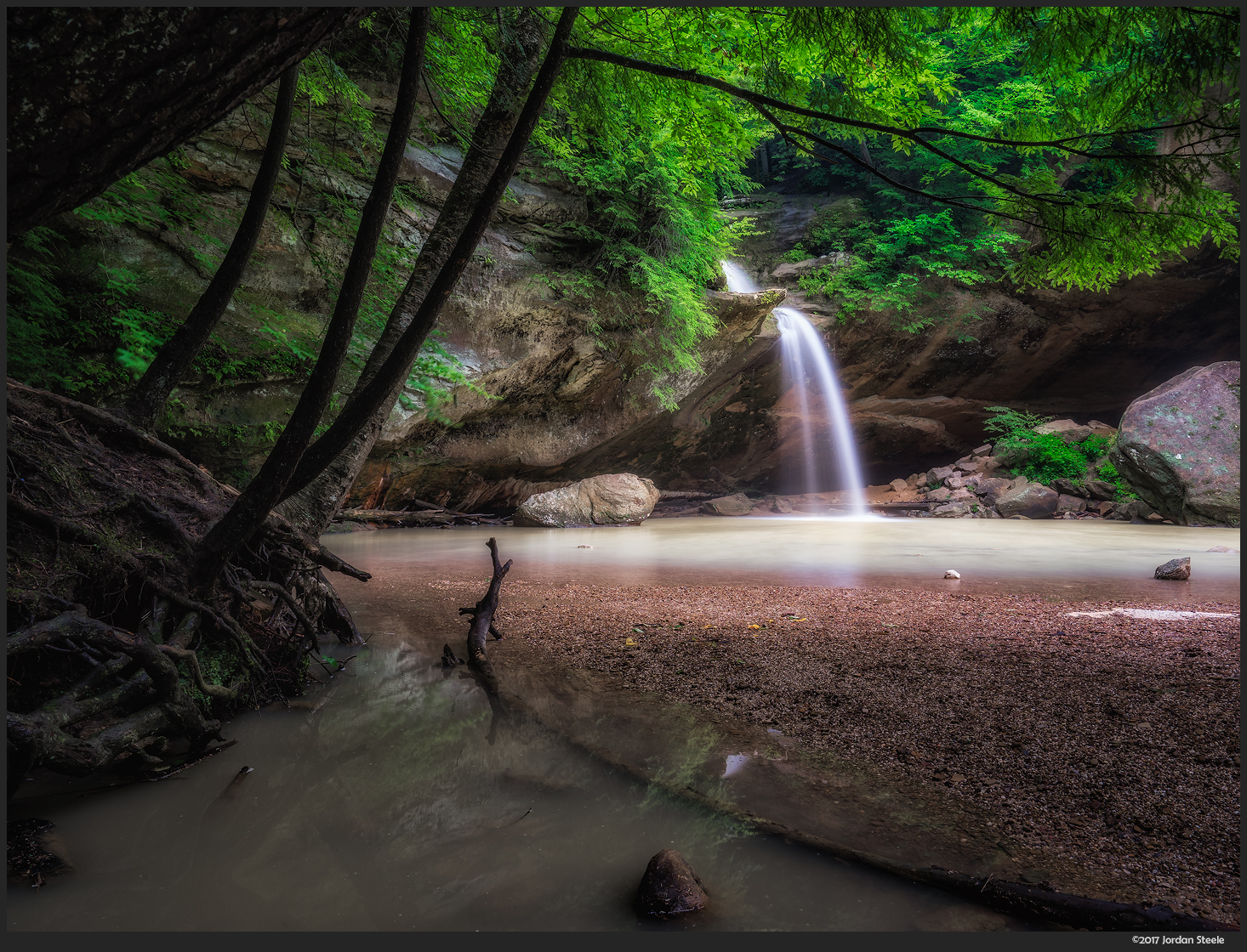 Lower Falls, Hocking Hills State Park, Ohio - Sony A7 II with