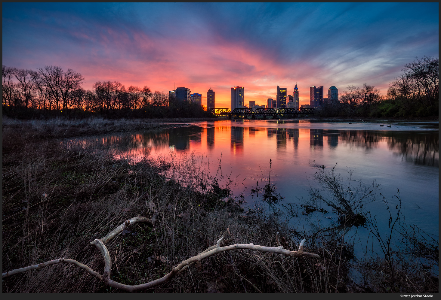 Spring Sunrise, Columbus, OH - Sony A7 II with Zeiss 16-35mm f/4 @