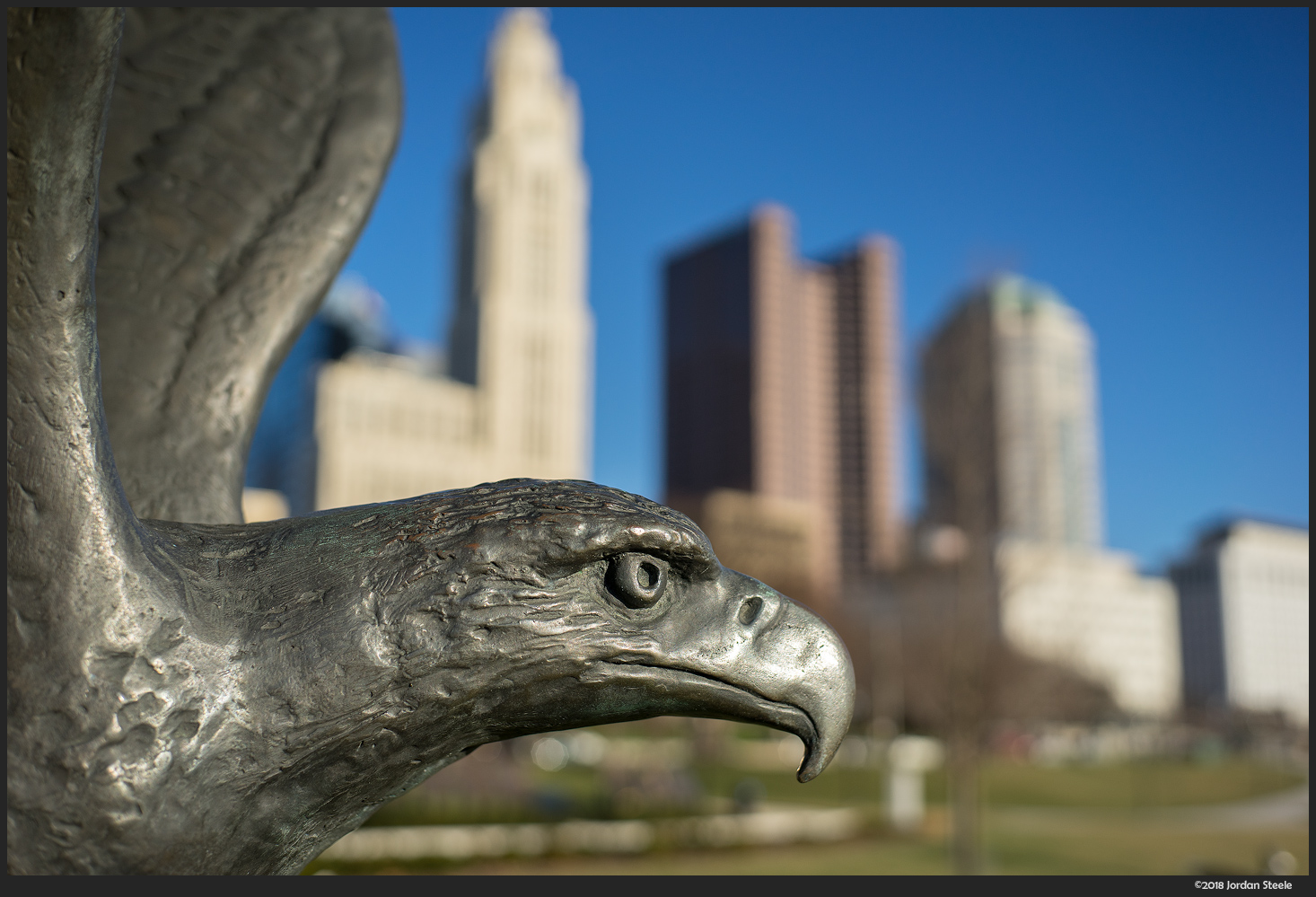 Eagle in Columbus - Sony A7 II with Voigtländer 35mm f/1.4 Nokton Classic @ f/3.5,