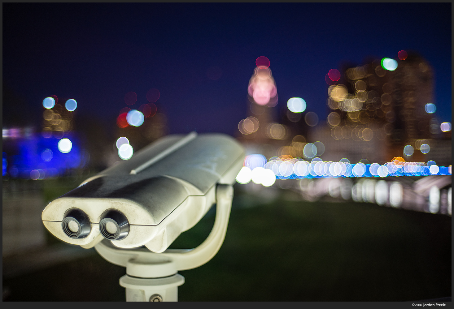 Telescope of the City - Sony A7 II with Voigtländer 35mm f/1.4 Nokton Classic @ f/1.4,