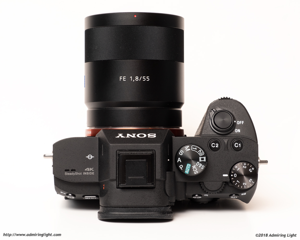 One of the A7 III's changes in body style is the deeper grip, matching the A7R III and A9 bodies that came before it.