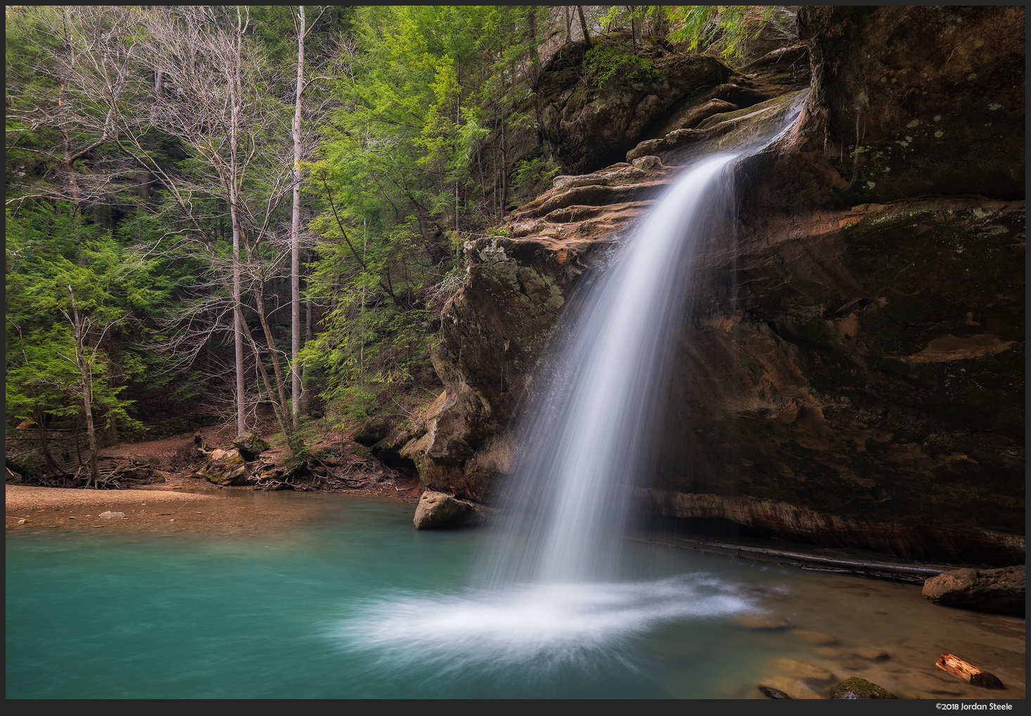 Lower Falls, Hocking Hills State Park, Ohio - Sony A7 III with Sony FE 16-35mm f/4 @