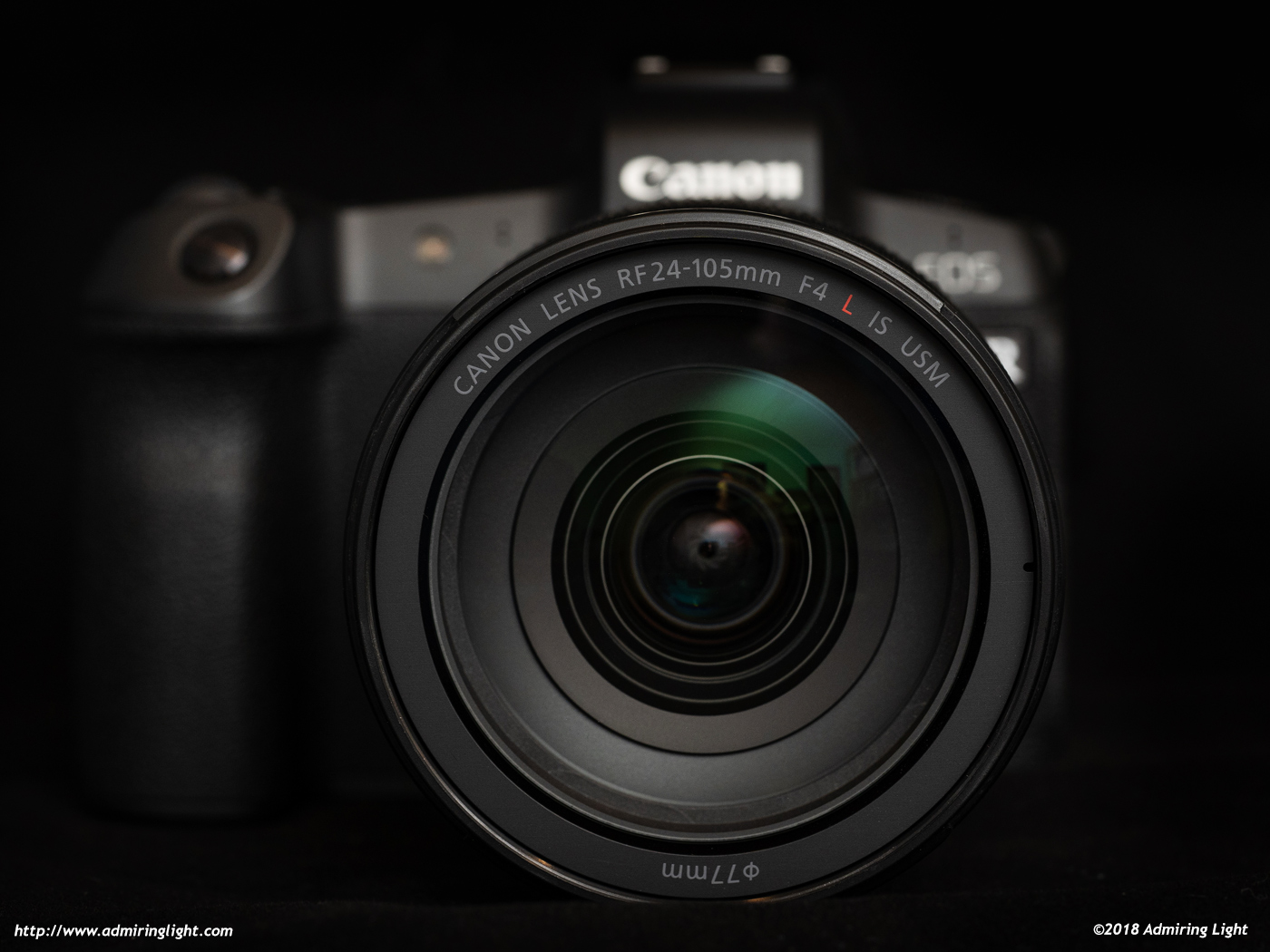 Canon RF 24-105mm f/4L on Canon EOS R