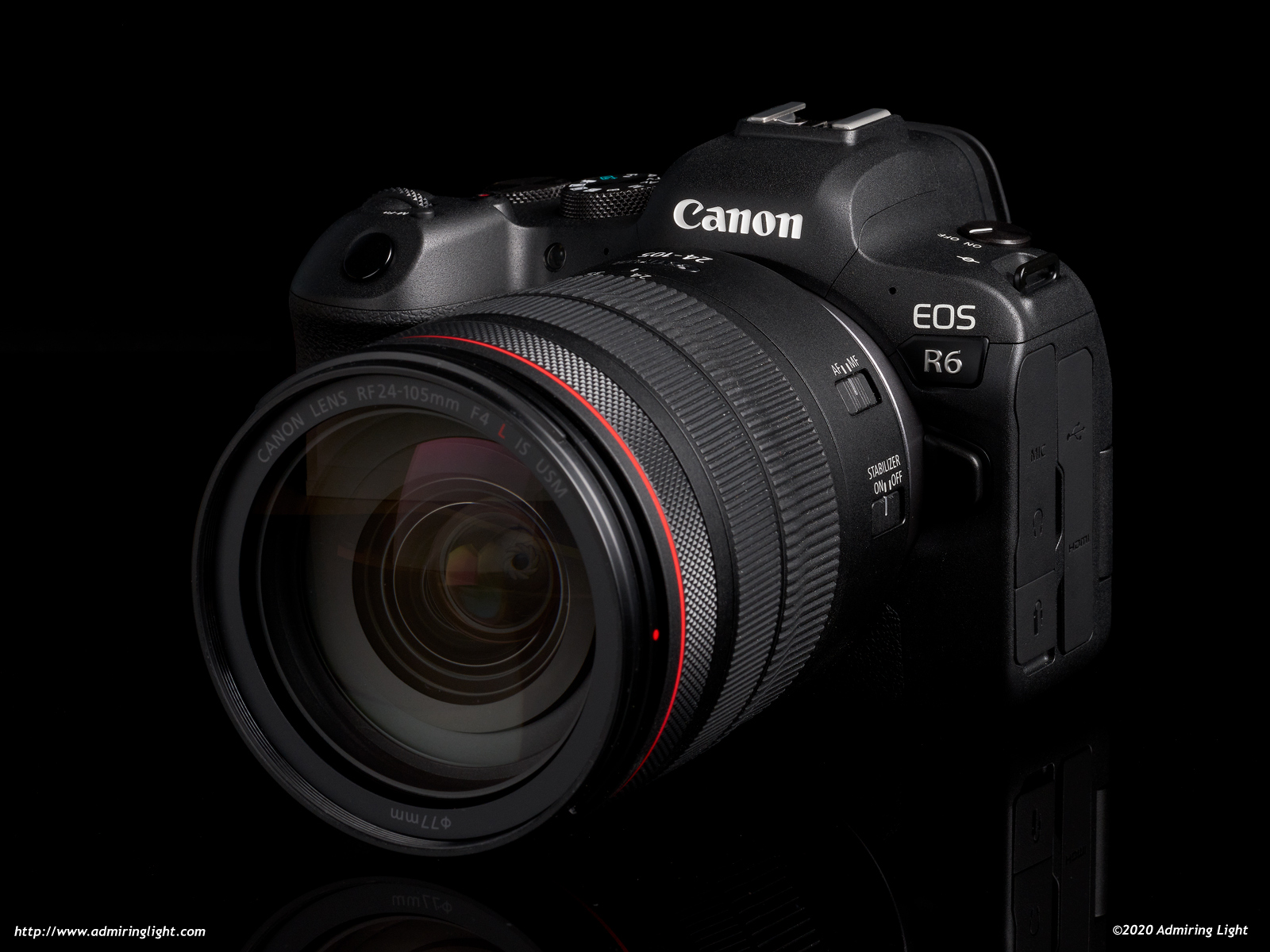 Canon RF 24-105mm f/4L on EOS R6