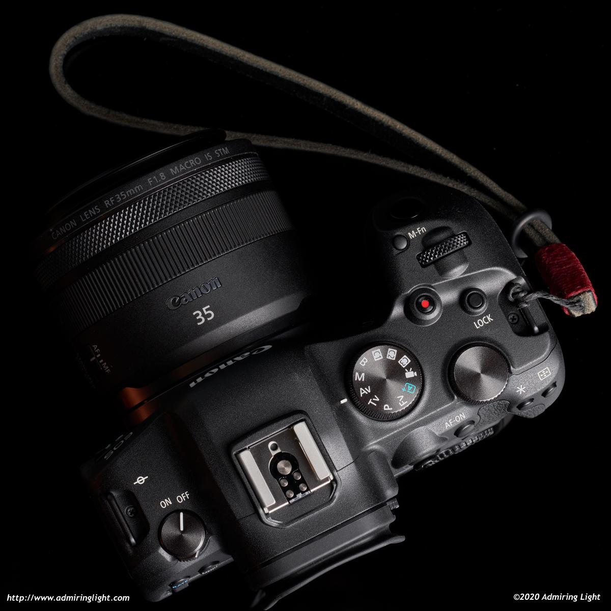 Canon EOS R6 top